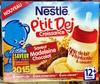 P'tit Dej Croissance saveur Madeleine Chocolat - Product