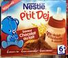 P'tit Déj Saveur Chocolat au Lait - Product