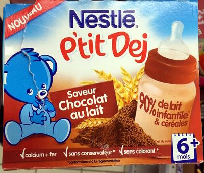 P'tit Déj Saveur Chocolat au Lait - Product - fr