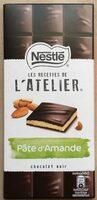 Chocolat noir pâte d'amande - Produit - fr