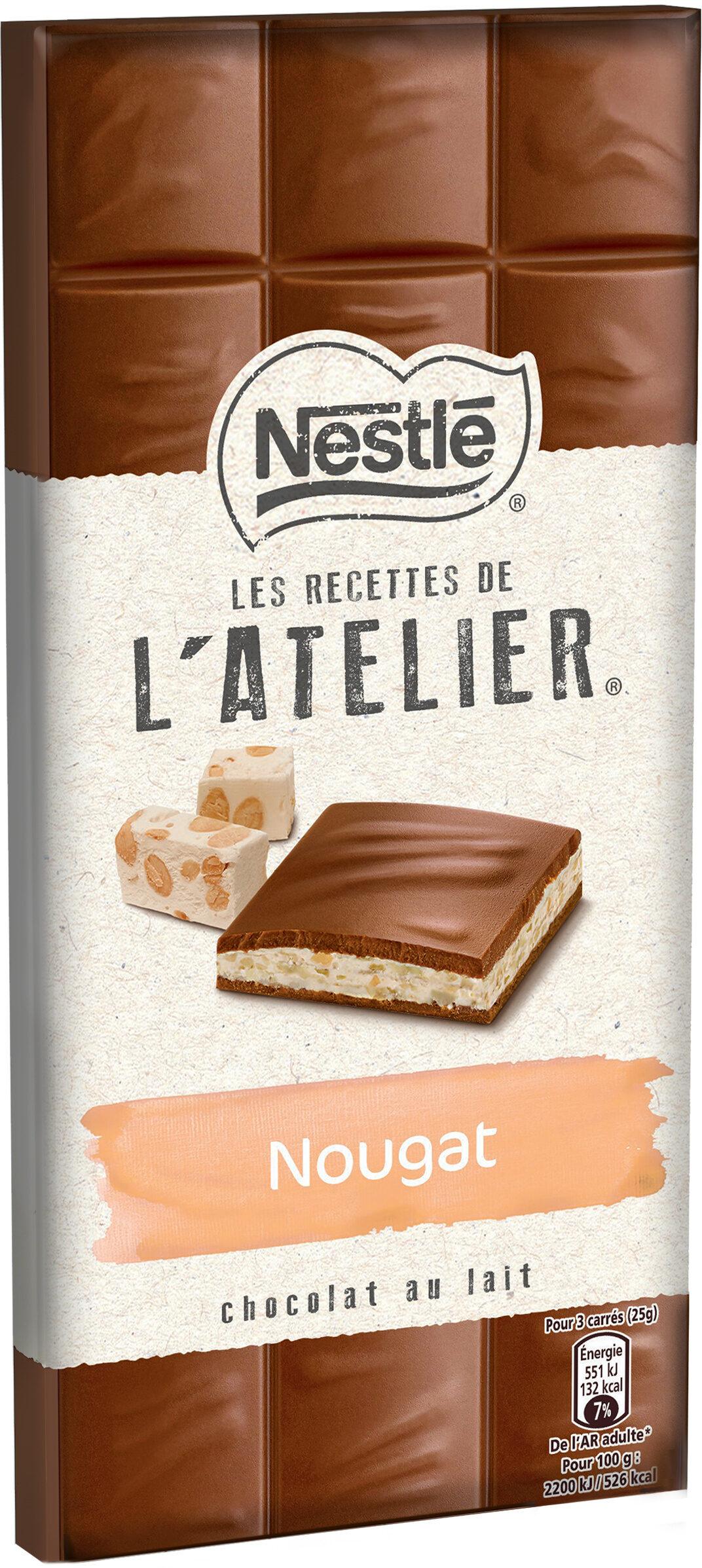 Chocolat au Lait et Nougat - Prodotto - fr