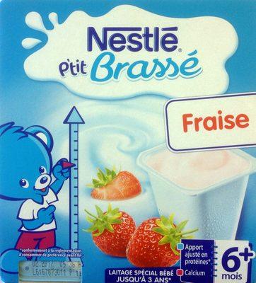 P'tit Brassé Fraise - Produit - fr