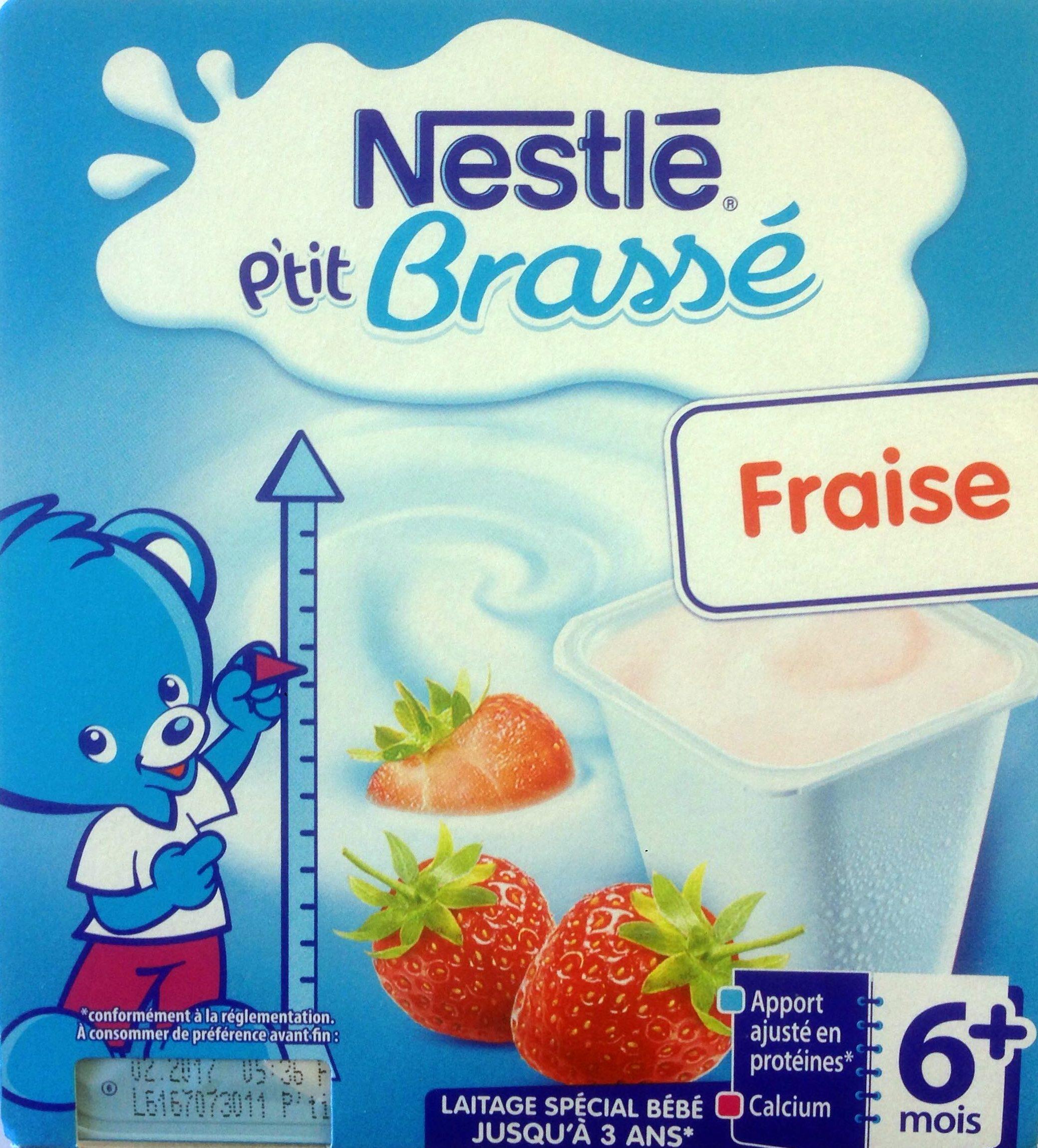P'tit Brassé Fraise - Produit