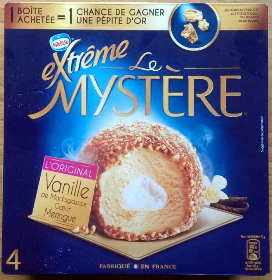 Le Mystère, Vanille de Madagascar Cœur meringue - Produit - fr