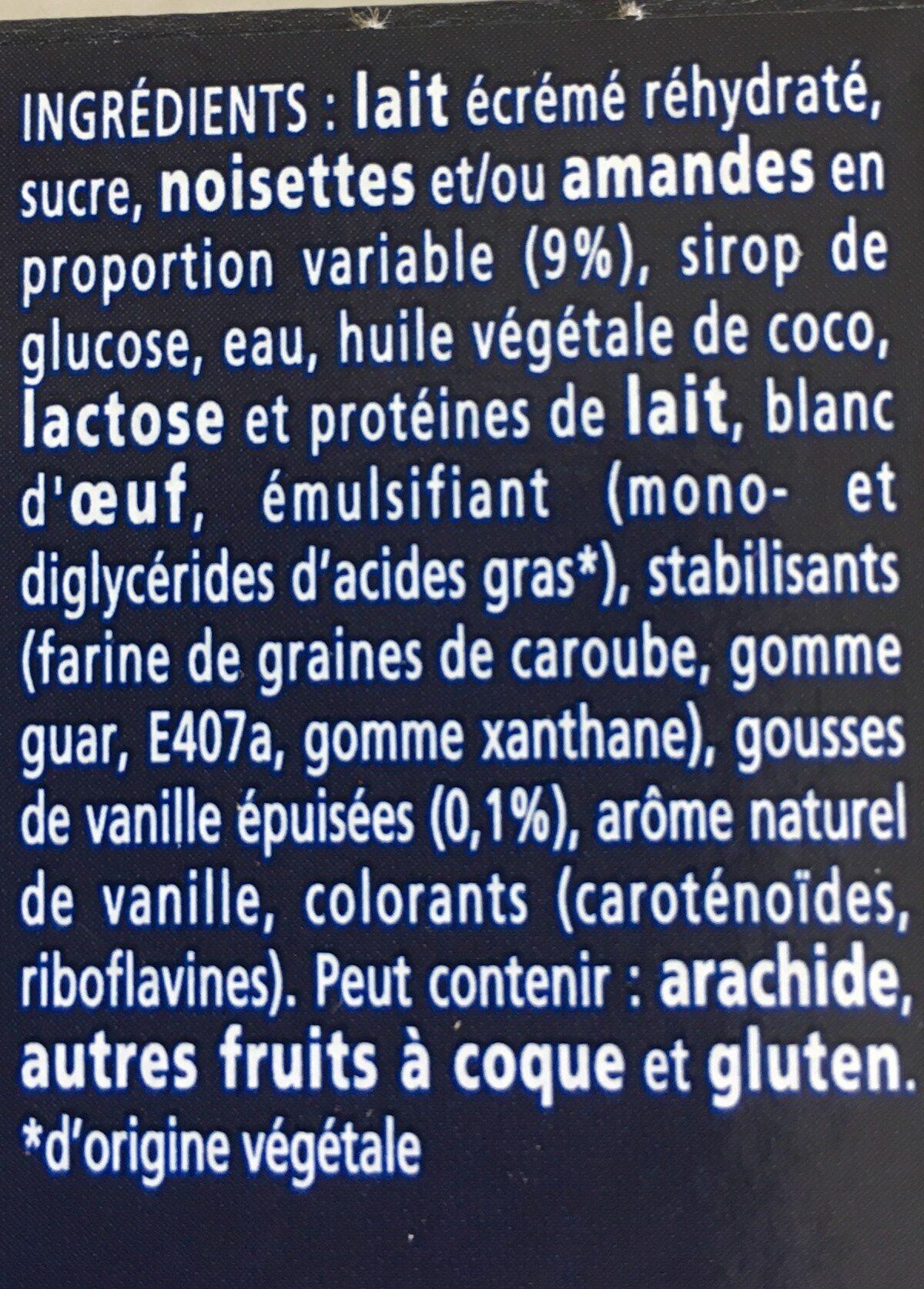 Le Mystère, Vanille de Madagascar Cœur meringue - Ingrédients - fr