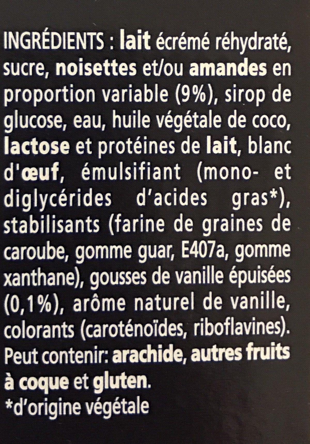 Le Mystère Original - Vanille Cœur Meringue - Ingredienti - fr