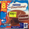 P'tit Gourmand chocolat (lot de 8 pots) - Product