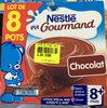 P'tit Gourmand chocolat (lot de 8 pots) - Prodotto