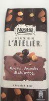 Les recettes de l'atelier raisins, amandes & noisettes - Produit - fr
