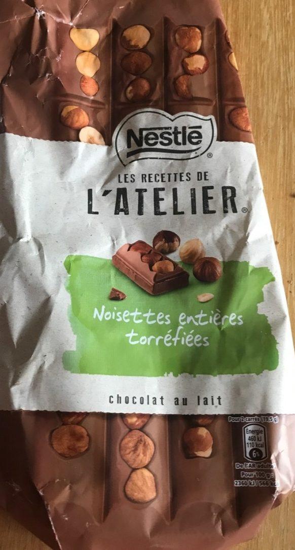 Les recettes de l'atelier Nois. toff. choc. lait - Produit - fr