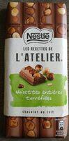 Chocolat au lait noisettes entières torréfiées - Product - fr