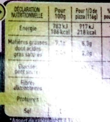 Four à pierre - Recettes Océanes - Informations nutritionnelles - fr