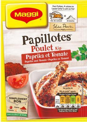 Papillote Poulet au Paprika et Tomate - Product
