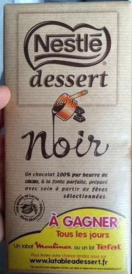 Dessert Noir - Produit