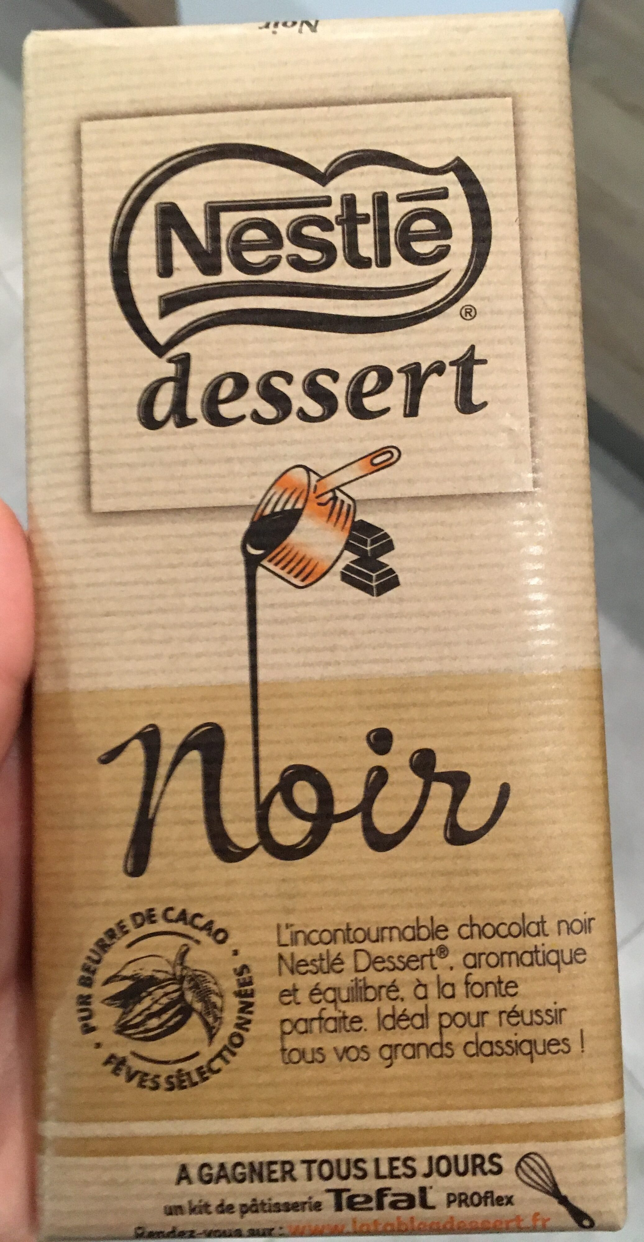 Dessert Noir - Product - fr
