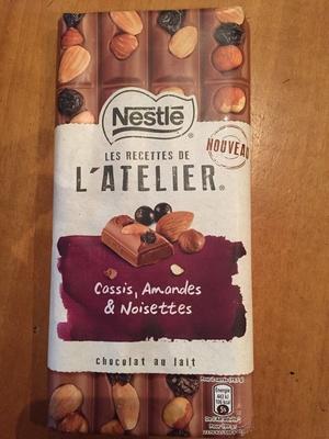 Les recettes de l'Atelier Cassis, Amandes & Noisettes - Produit - fr