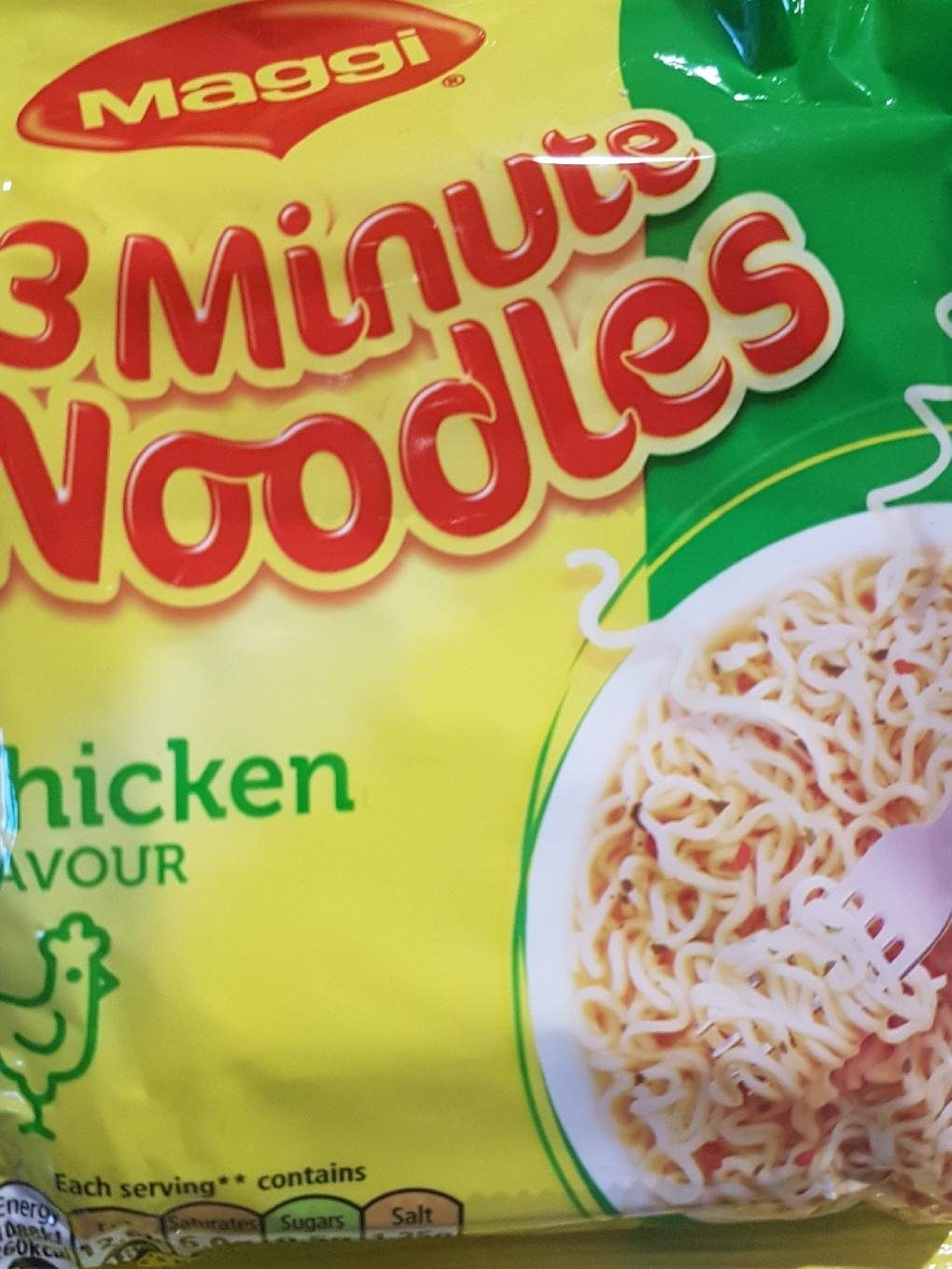 Maggi Chicken flavour instant noodles - Informations nutritionnelles - fr