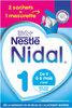 NESTLE NIDAL 1 Lait Infantile 1er âge 2x350g dès la Naissance - Produto