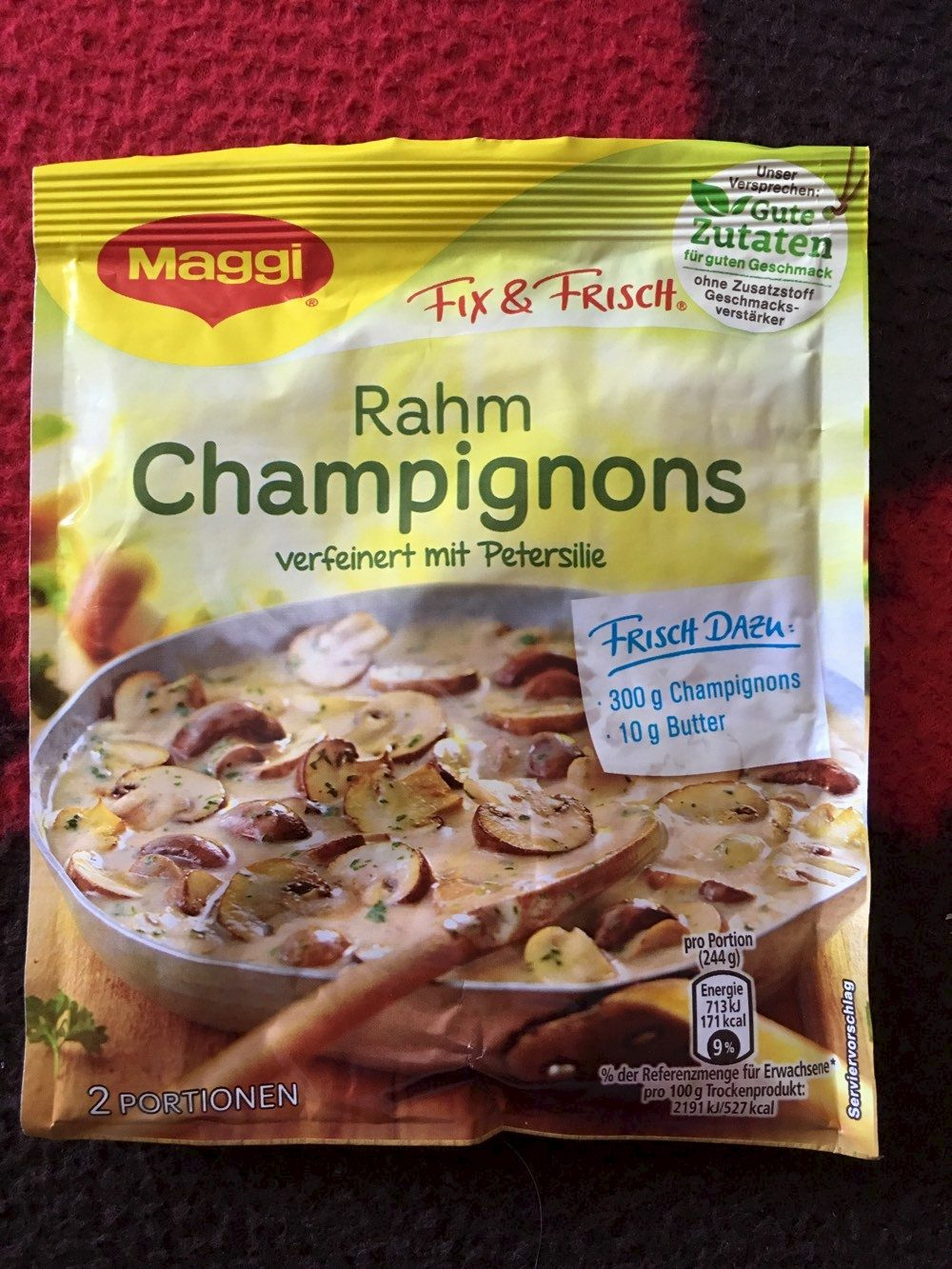 Rahm Champignons - Produit