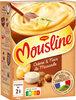 MOUSLINE Purée Crème Muscade (3x65g) - Produto