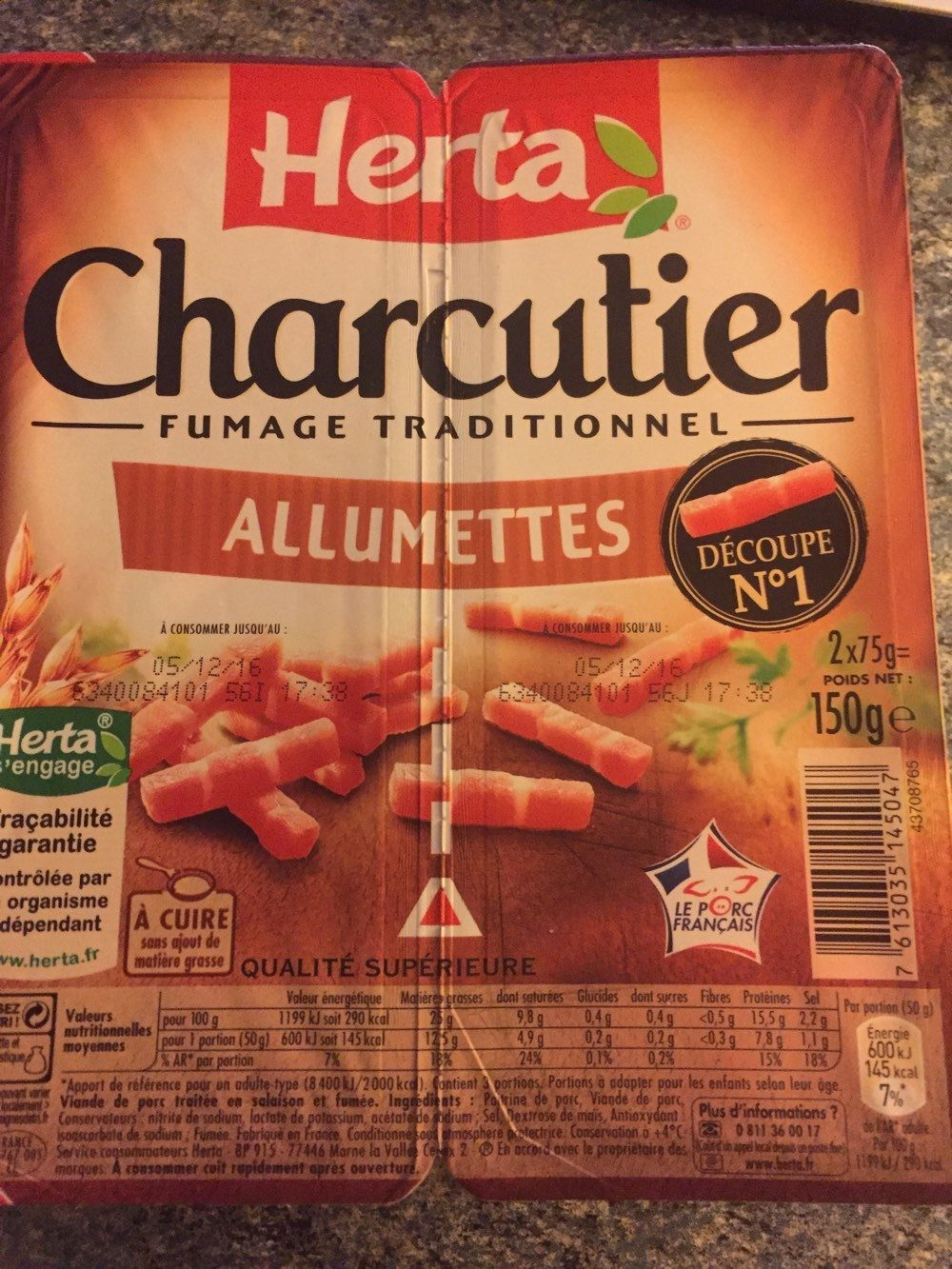 Allumettes Charcutier - Produit