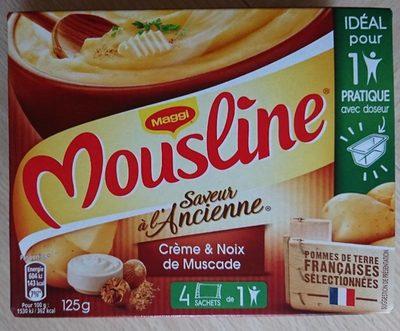 Mousline Saveur à l'Ancienne Crème & Noix de Muscade - Product