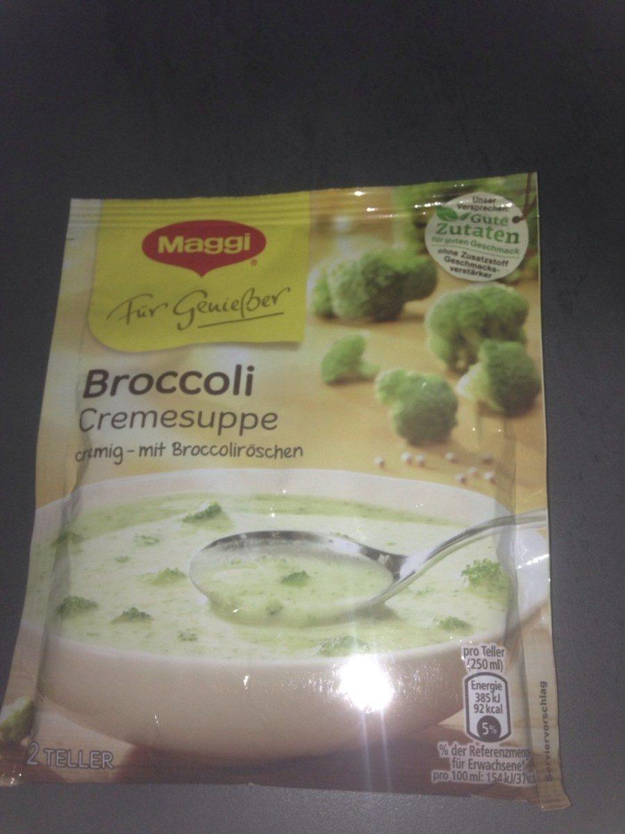 FüR Genießer, Broccoli Cremesuppe - Product - fr