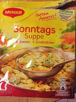 Guten Appetit, Sonntags Suppe - Product