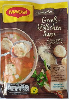 Grießklöschensuppe - Product - de