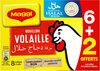 MAGGI Bouillon de Volaille Halal 6+2 tablettes - Produit