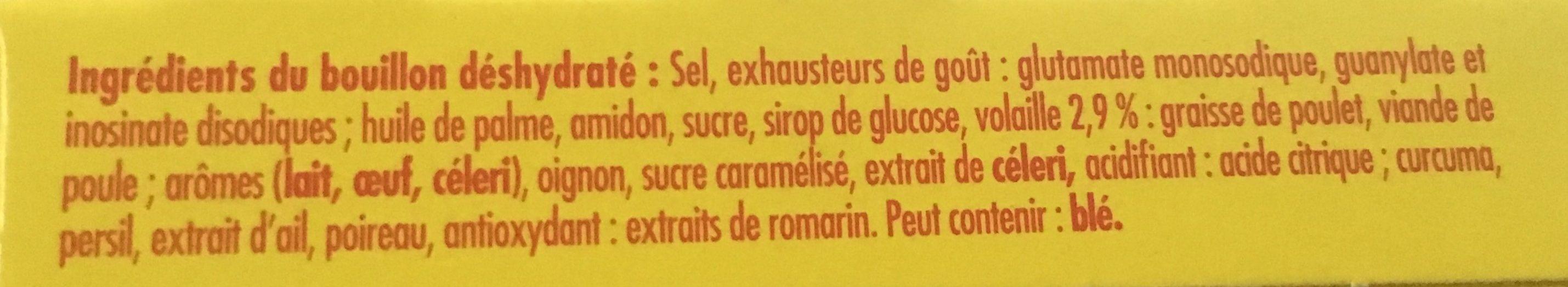 MAGGI Bouillon de Volaille Halal 6+2 tablettes - Ingredients - fr