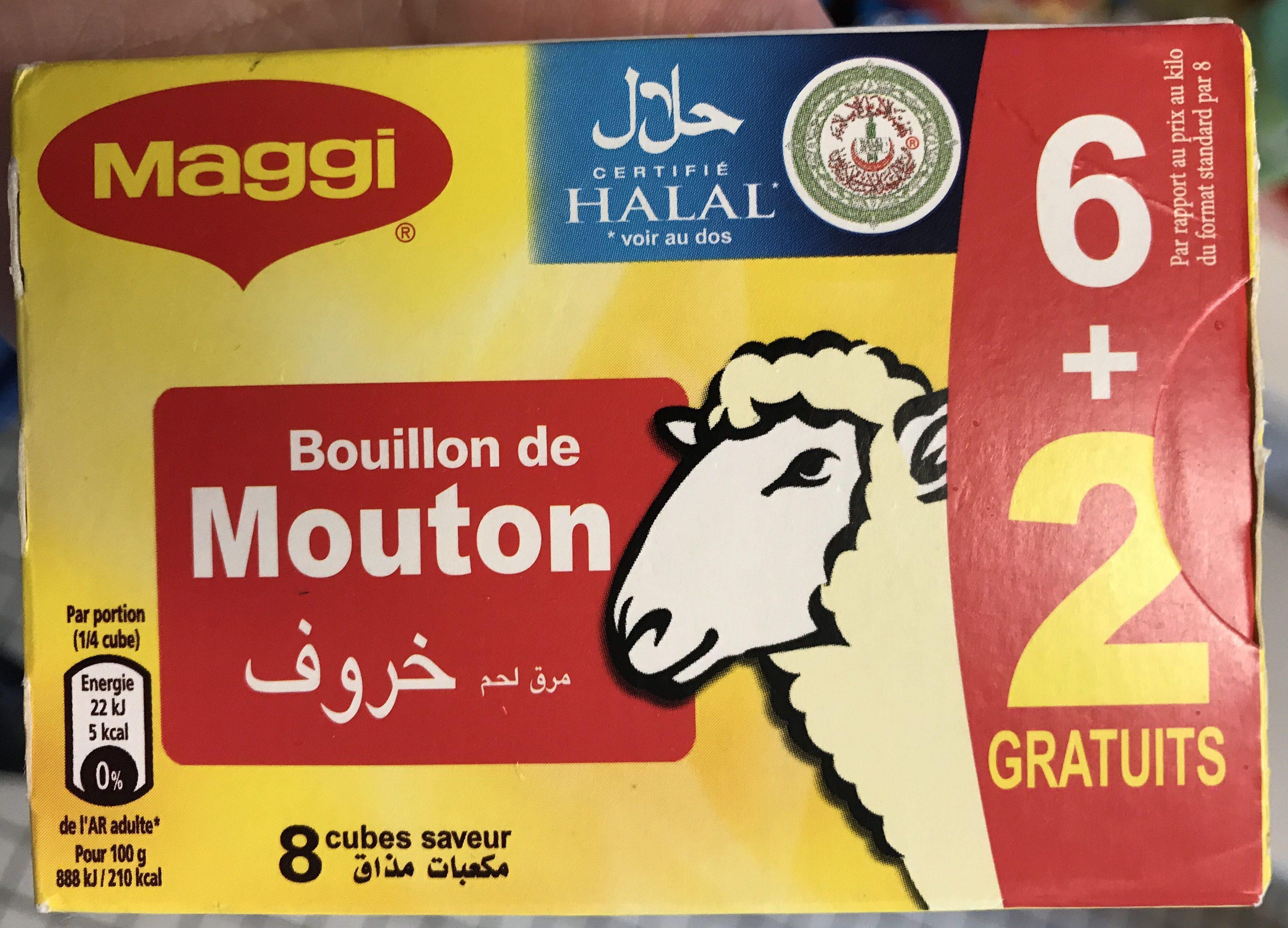 Bouillon de Mouton (6+2 gratuits) - Product - fr
