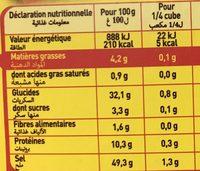 Bouillon de Mouton (6+2 gratuits) - Voedingswaarden - fr