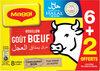 MAGGI Bouillon goût Bœuf Halal 6+2 tablettes - Prodotto
