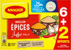 MAGGI Bouillon aux Epices Halal 6+2 tablettes - Prodotto