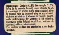 Crunch - Ingredientes