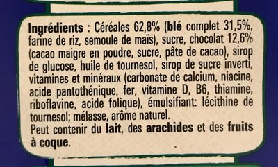 Crunch - Ingredients - fr