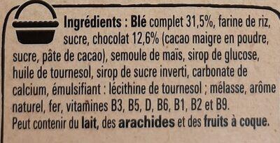 crunch - Ingrédients