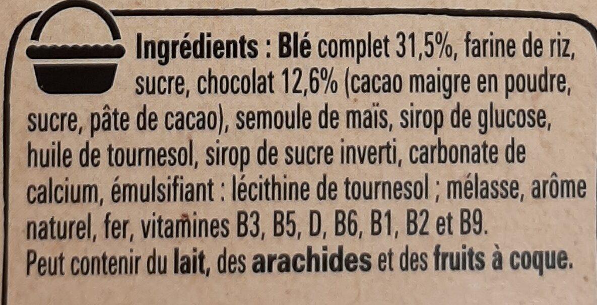 crunch - Ingrédients - fr