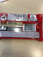 KitKat Milk Chocolate 4 Finger - Ingredients