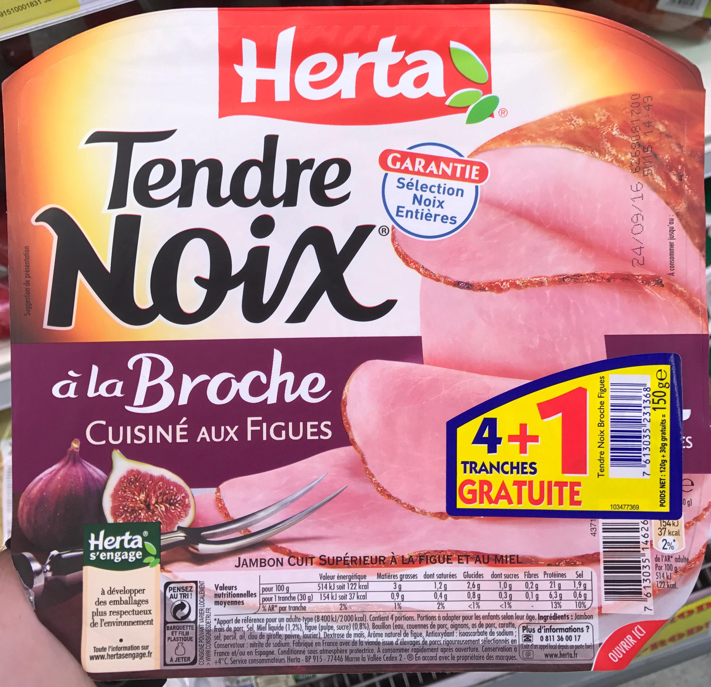 Tendre Noix à la Broche cuisiné aux Figues - Produit - fr