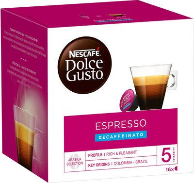 Capsules NESCAFE Dolce Gusto Espresso Decaffeinato 16 Capsules - Prodotto - fr