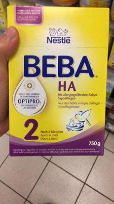 BEBA Optipro HA 2 Pour des Bébés a D'allergi - Hypoallergénique - Prodotto - fr