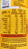ricoré - Nutrition facts - fr