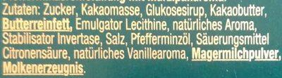 After Eight Mint & Marzipan Flavour - Inhaltsstoffe