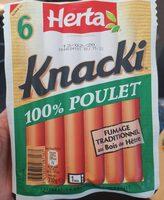 Knacki 100% poulet - Product - fr