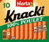 KNACKI saucisses au poulet - Produit