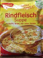 Rindfleisch Suppe - 产品