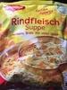 Rindfleisch Suppe - Produit