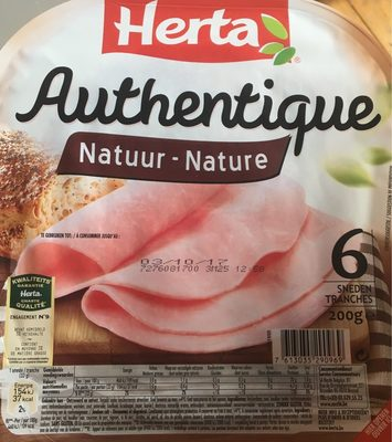 Jambon Authentique Nature - Product